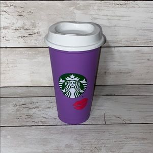 Starbucks Valentine's Day reusable hot cup